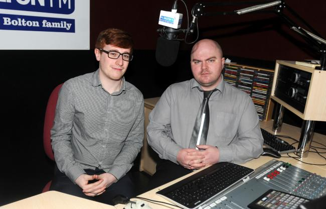 Tom Molloy and Marc Iles who will be presenting The Buff podcast