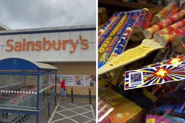 Bravo or victory for snowflakes - your reaction to Sainsbury's fireworks ban - Photo