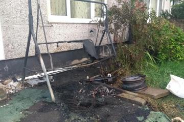 Breightmet woman terrified after wheelie bin firework arson attack - Photo
