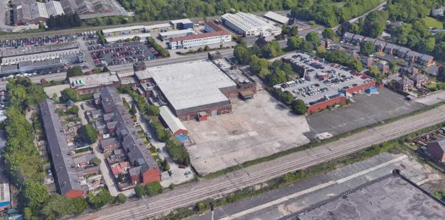 SITE: Former Meridian Court in Manchester Road where six industrial units, a fast food drive-thru restaurant and petrol station will be built