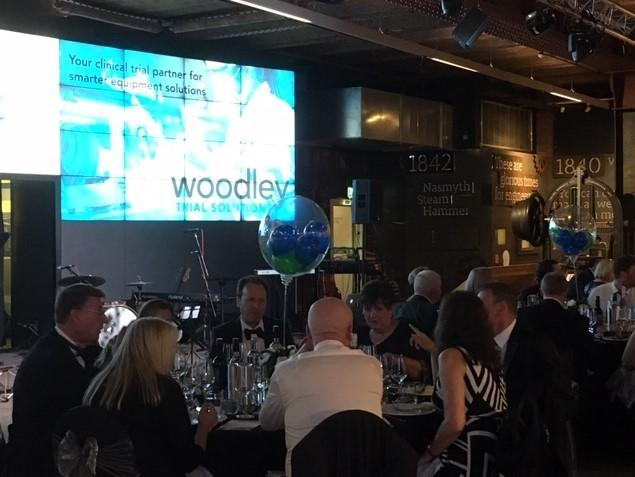 Guests at Woodley Equipment Company's 30th anniversary party