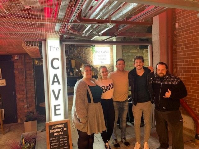 Alex Reid meets fans at The Cave in Bolton