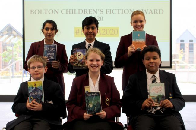 SHORTLIST: Children reveal the books in line for Bolton Children's Fiction Award 2020