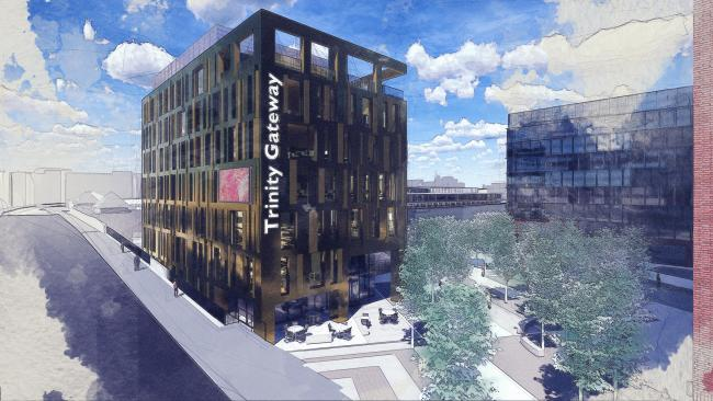 Artist impressions of what the Trinity Quarter could look like