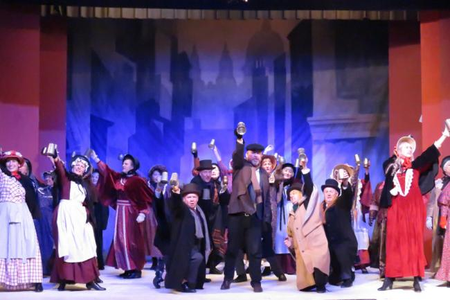 Walmsley AODS Scrooge the Musical