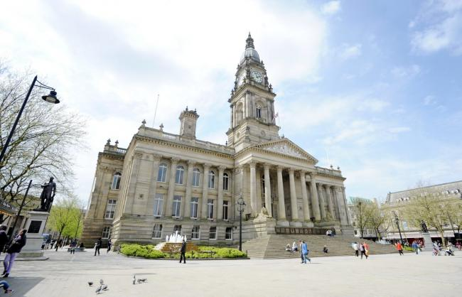 General view of Bolton Town Hall. Photo by Matt Simmonds, Newsquest Bolton, Wednesday May 2, 2012..