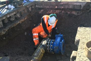 £440,000 gas main project on Blackburn Road has finally finished - Photo