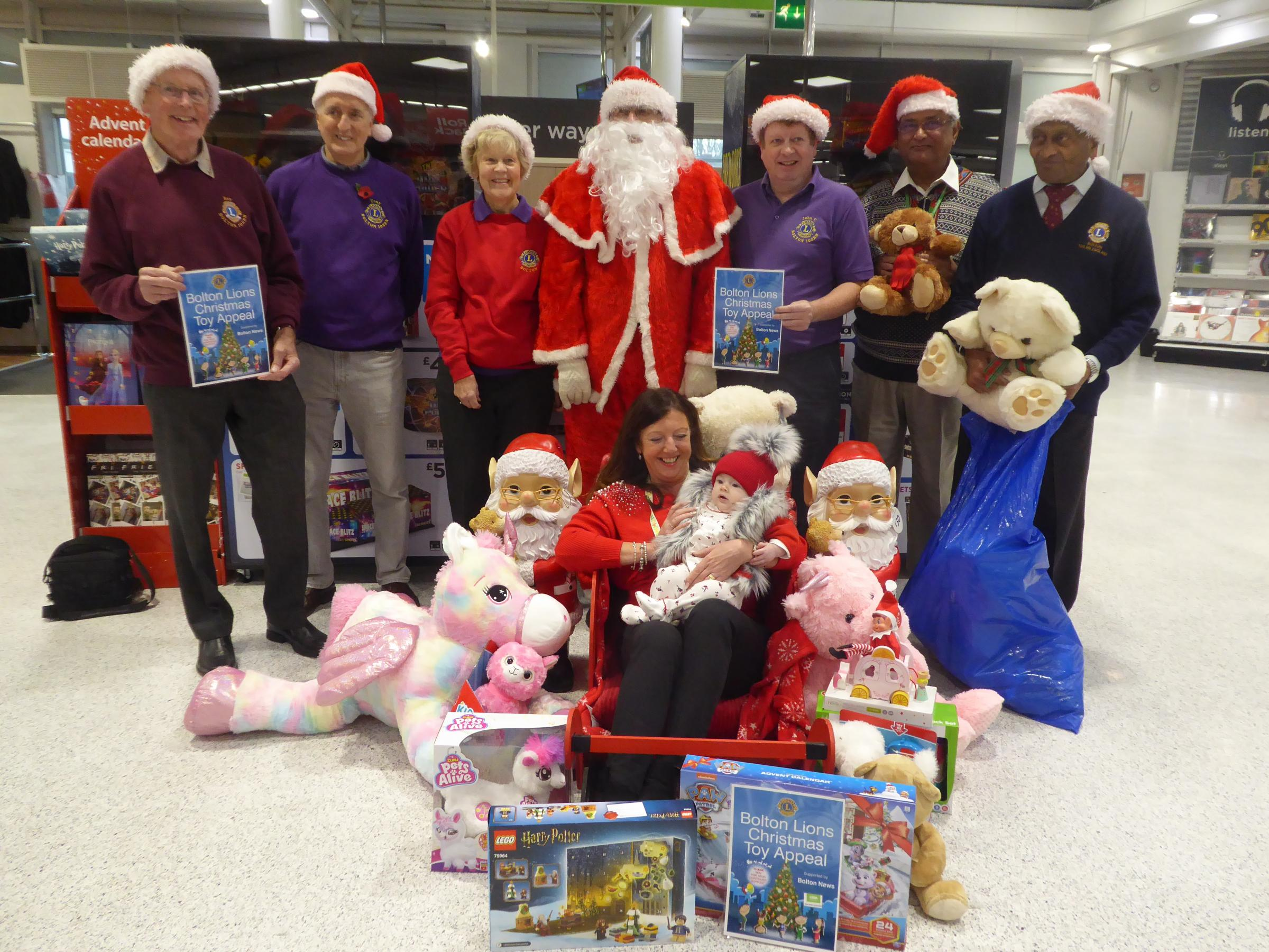 Bolton Lions launch their annual Christmas toy appeal - The Bolton News