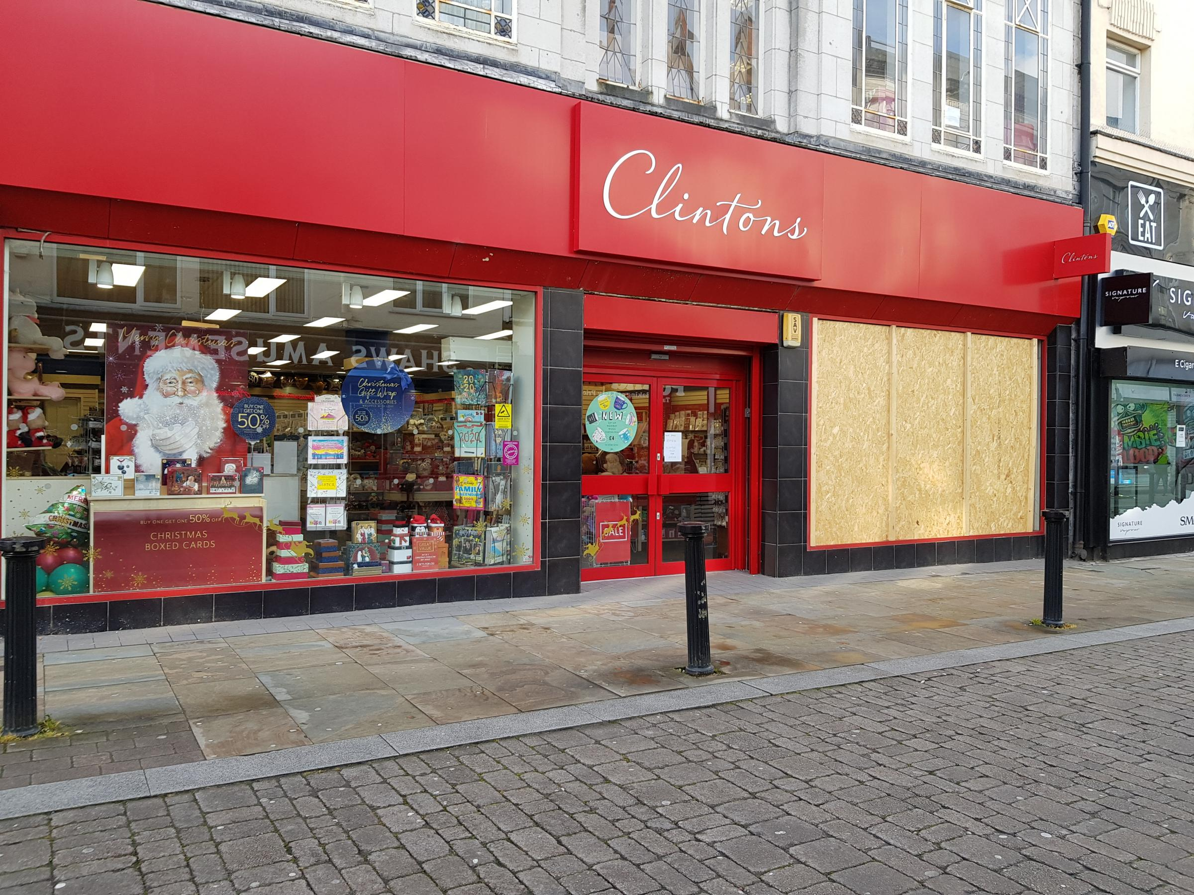 Calls for action after fifth raid on Clintons Bolton shop this year - The Bolton News