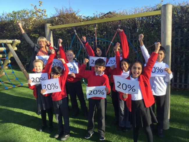 ACHIEVEMENT: Sharples Primary School in the top 20 per cent of the country