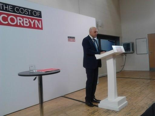 Sajid Javid speaks at Bolton Lad's and Girls Club