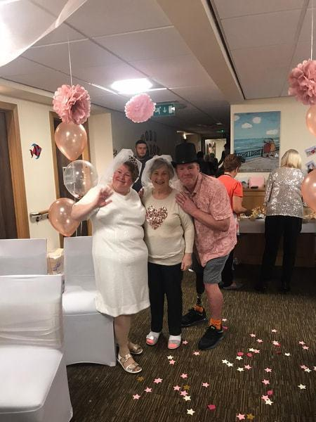 Care Home Wedding