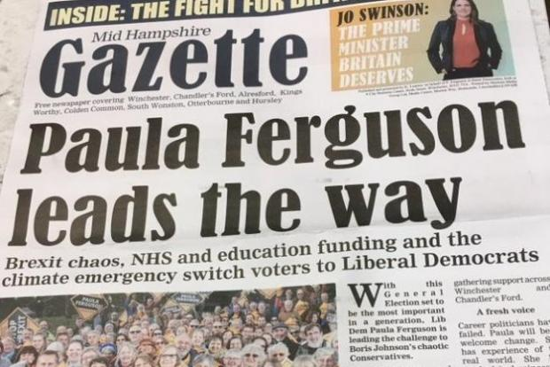 The Bolton News: One of the 'fake newspapers' produced by the Lib Dems