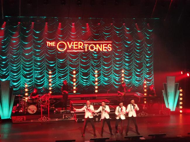 REVIEW: The Overtones delight fans at The Lowry, Salford Quays