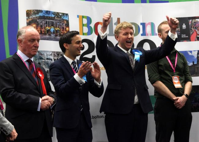 Conservative Mark Logan wins Bolton North East beating Labour's Sir David Crausby