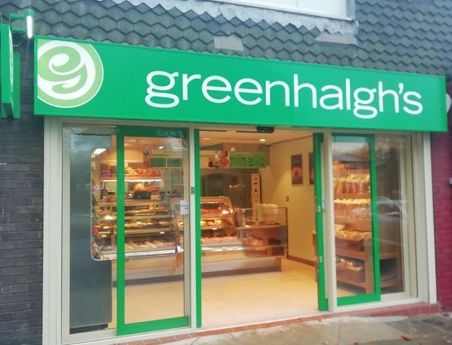 The Greenhalgh's store which opened in Crompton Way, Bolton, last October