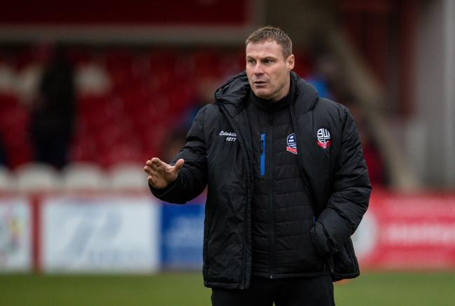 Embargo won't stop us adding quality to Wanderers squad, says Flitcroft