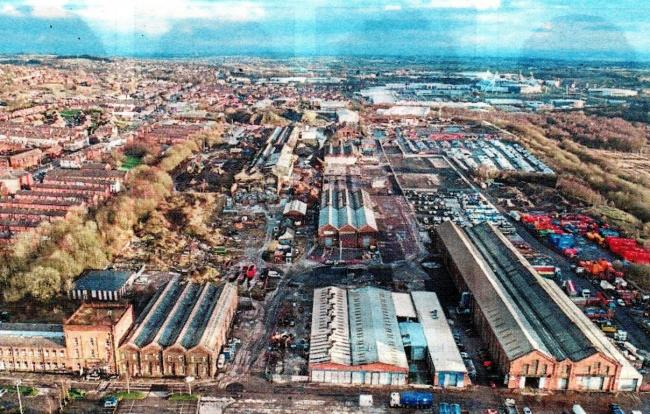 The Loco Works in Horwich
