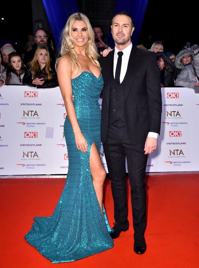 PA file photo of Christine McGuinness and Paddy McGuinness attending the National Television Awards 2019 held at the O2 Arena, London. See PA Feature TOPICAL Wellbeing McGuinness. Picture credit should read: Matt Crossick/PA. WARNING: This picture must on