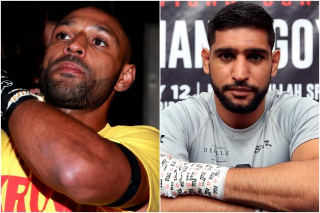 Talk of Amir Khan and Kell Brook fighting has rumbled on for several years