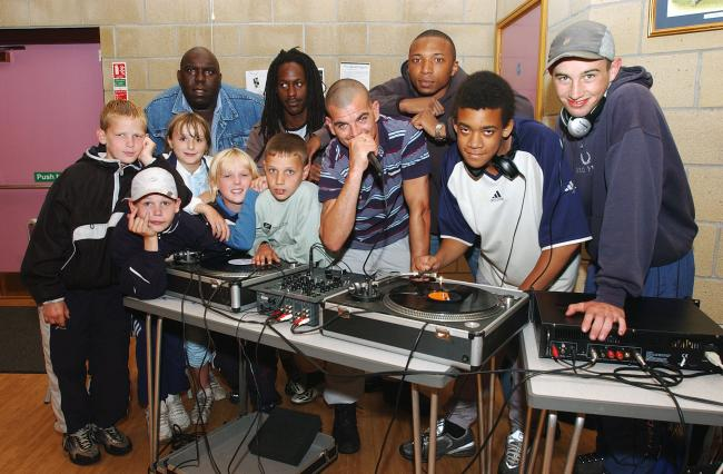 Today's picture from The Bolton News archives shows a group of youngsters enjoying the Harmony Youth Project's summer DJ tuition workshops held at St. Catherine's Church, Farnworth in 2003