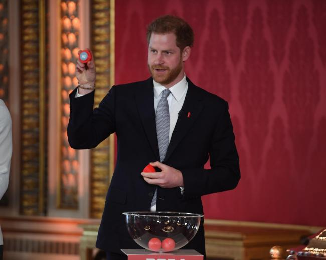 Prince Harry hosts Rugby League World Cup draw as Bolton waits on fixtures