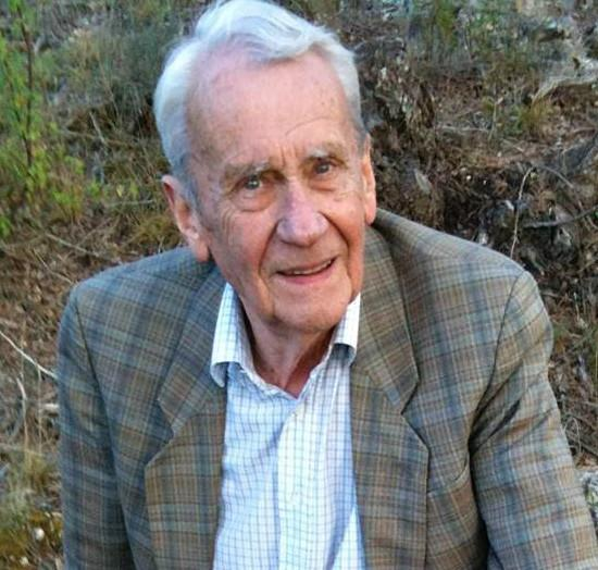 Christopher Tolkien photos - captions and credits..Filename: Christopher Tolkien_preferred image .Credit: Bob Cohn..