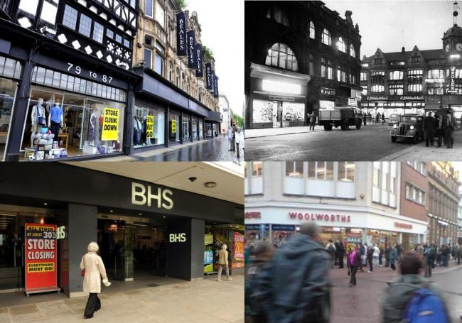 Shops which used to be in Bolton