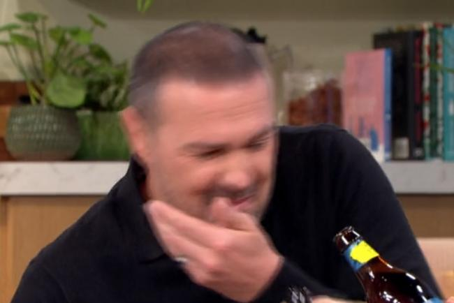 Paddy  McGuinness leaves fans in hysterics after hungover This Morning appearance