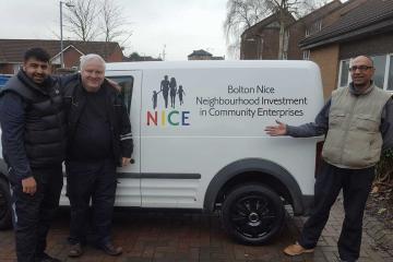 Success for Bolton charity as Good Samaritan donates new van - Photo
