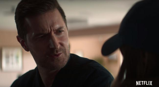 Richard Armitage in The Stranger, filmed in Bolton and Bury