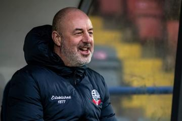 Wanderers' boss Keith Hill's press conference - Bristol Rovers - Photo