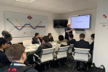 Eventura teams up with Westhoughton High School to guard against cyber threats - Photo