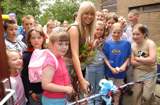 Today's picture from The Bolton News archives shows actress and former pupil Sammy Winward opening the Turton and Edgworth CE Primary School summer fair in 2003