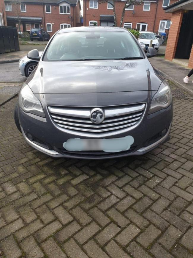 Police arrested a man in Breightmet who had been driving this grey Vauxhall Insignia