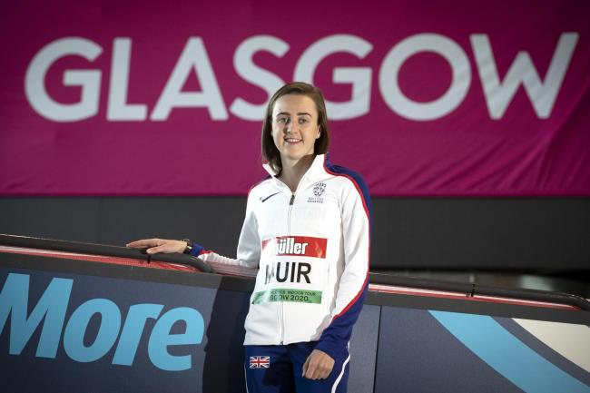 Laura Muir is aiming to break a world record in Glasgow