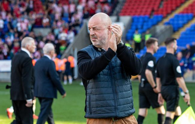 RALLYING CALL: Keith Hill has called on supporters to keep the faith