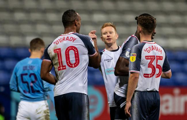 Ali Crawford could make his first Bolton appearance since the end of October at MK Dons