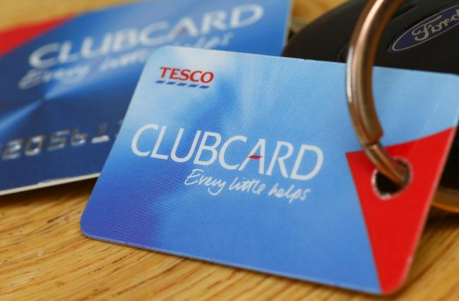 Tesco Clubcard users can double their points. Photo credit: Chris Ison/PA Wire.