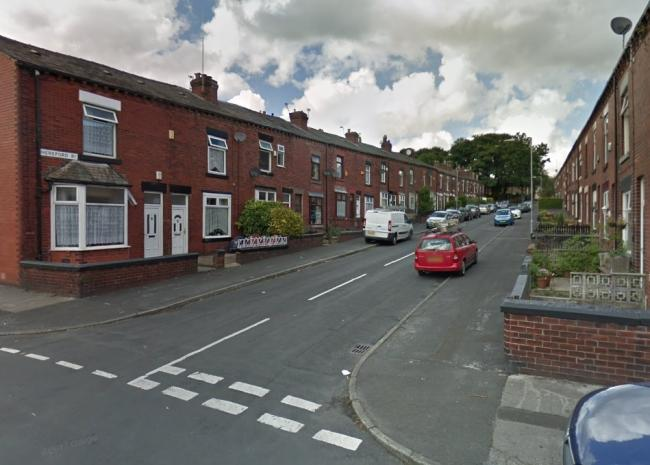 SCENE: The burglary was in Hereford Road, Bolton