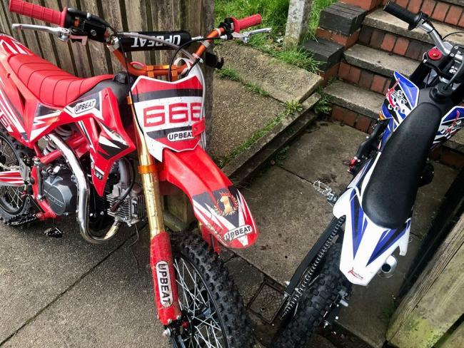 Bikes seized from Breightmet by GMP