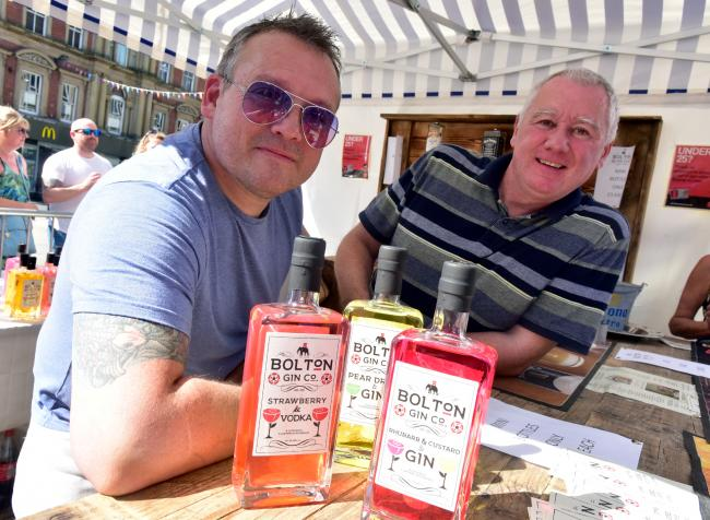 SUCCESS: Paul Welch and Mark Barnes of The Bolton Gin Company