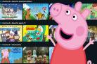 Peppa Pig and friends are available on some of the kids' shows available through Amazon's Free For All promotion.