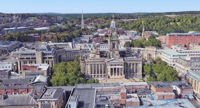 Bolton Town Hall Google Earth