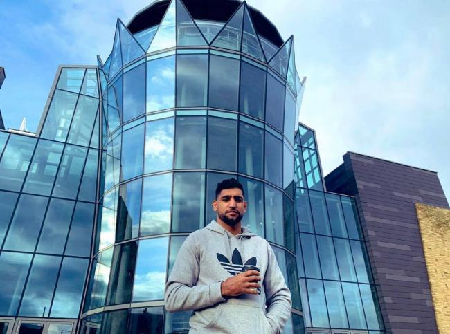 Amir Khan offers his Deane wedding hall to the NHS to battle coronavirus