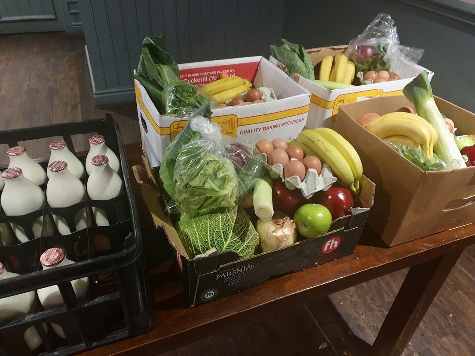 Bar in Breightmet opens up for food parcels