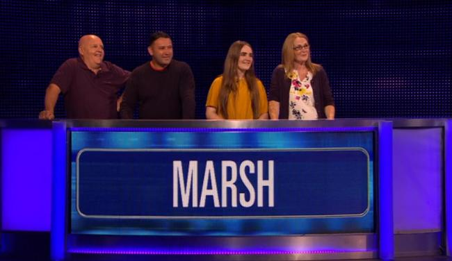 The Marsh family from Bolton on The Chase