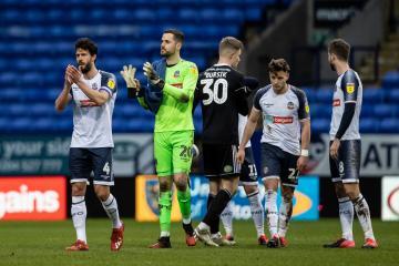 Wanderers skipper Jason Lowe wants to see League One season completed - Photo