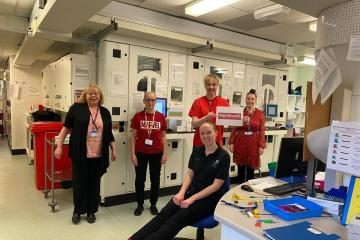 CORONAVIRUS: Hospital staff show support for research trials - Photo