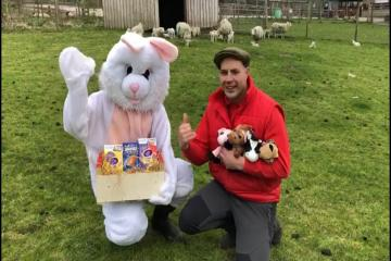 Smithills farm swaps milk round for Easter Egg delivery - Photo